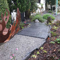 neuer Weg mit Tessiner-Granit