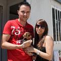 Cachorro, adoptado 06/2012 en Gandia