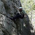 Rock climbing in Ontario: Wieder nur im Naturpark herumgehangen...