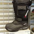 Ausrüstung für den kanadischen Winter: Dieser Stiefel soll einen auch bei -100°C noch warm halten.