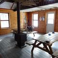 Herrlicher Morgen in Mont Tremblant: Gut geschlafen in der Hütte.