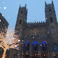 Winter in Kanada: Sightseeing in Quebec ist auch im Winter schön, aber nur bei milden Temperaturen.