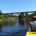 Paddeln in Kanada: Mit dem Kayak lassen sich zahlreiche Flüsse in Ontario erkunden.