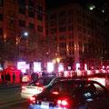Torontos Nuit Blanche 2014: Infostand des Hauptsponsors.