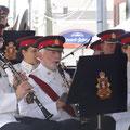 Musikvergnügen mit der Band des Royal Regiment of Canada.