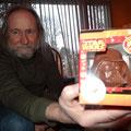 Die dunkle Seite gibt es auch in Schokolade: Darth Vader zum Vernaschen.
