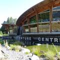 Das Squamish Adventure Centure ist die erste Anlaufstelle für abenteuerlustige Touristen.