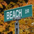 Herbst in Kanada: Irgendjemand Lust auf Strand?