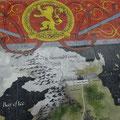 Zu Besuch in Westeros: An Toronto's Union Station gibt es zur Zeit eine begehbare Karte von der Welt aus Game of Thrones.