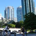 Hochhäuser in der Innenstadt von Vancouver.