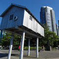 Rundgang durch Downtown Vancouver.