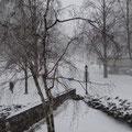 Wintermorgen in Toronto