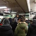 Endlosgeschichte U-Bahn in Toronto: Im Winter wird der Arbeitsweg immer wieder zum Gruppenerlebnis.