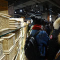 Beim ersten Besuch im Torontos MUJI-Store konnte man vor Besuchern kaum treten.