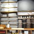 Bei MUJI gibt vorwiegend, aber nicht ausschliesslich asiatische angehauchte Produkte.