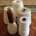 Ausgangsmaterial für den Überwurf; Leinen & Baumwolle