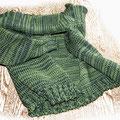 Wolljacke mit 2 Fäden -hellgrün und dunkelgrün