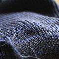 Synthetik -3 Fäden schwarz, dunkelblau und blau