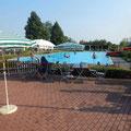 Freibad Wahlsdorf mit Wasserrutsche