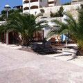 Eine Strandbar