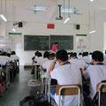 Die Junior Highschool besucht man von der 7. bis zur 9. Klasse. Matheunterricht in einer 7. Klasse.