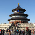 Der Himmelsaltar im Tiantan-Park in Beijing.