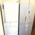 2台完備の大型冷蔵庫