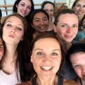 Essence of Bellydance Lehrerausbildung 2017 mit COCO! 3. und leider auch letztes Training in Berlin! *Ich rechts am Rand als angehende Essence of Bellydance Lehrerin.*