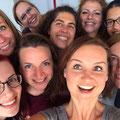 Juli 2018: Abschiedsfoto mit der Essence Family vom jährlichen Re-Training in Berlin! *Ich links unten in der Ecke als zertifizierte Essence of Bellydance Lehrerin.*