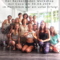 Der Beckenboden Workshop mit Coco im MamiGlück war ein voller Erfolg. Es war eine sehr harmonische und bereichernde Runde mit ganz wundervollen und außergewöhnlichen Frauen. Und alle Teilnehmerinnen haben sich eine Fortsetzung gewünscht...