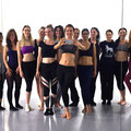 Essence of Bellydance Lehrerausbildung 2017 mit COCO! 2. Training in Berlin mit 4 Probeschülerinnen! *Ich 4. von links als angehende Essence of Bellydance Lehrerin.*