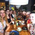 Abendessen mit meinen liebsten Essence of Bellydance Kolleginnen in Berlin.