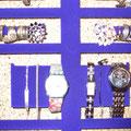 die Elegante - samt blau