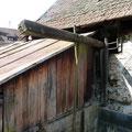 Wasserrad III war in der Radkammer untergebracht.