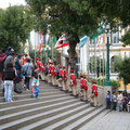 Fahnenübergabe in La Paz