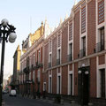 Häuserstil in Puebla