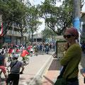 Bogotá . Verkehrsfreier Sonntag