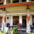 unsere Unterkunft in Lovina das Padang Lovina Hotel
