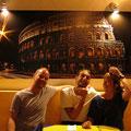 Im Especias Restaurant mit Francesco, Cozumel