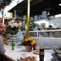 Essstand am Markt von Oaxaca