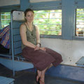 Zug von Alleppey nach Varkala