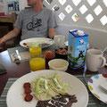 unser Frühstück im Amaranto, Cozumel