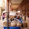 Markt in Tupiza, Bäckerei