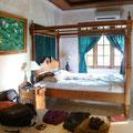 unser schönes Zimmer in Ubud....