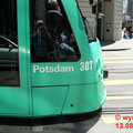 """Zwei der Combinos sind auf die deutschen Städte Potsdam und Berlin getauft. Hier Nr. 307 """"Potsdam"""". Auch der Fotograf ist als Spiegelung im Fenster verewigt."""