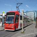 Siemens GT8N 1118 beim Hauptbahnhof (20.05.2007).
