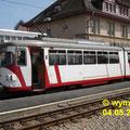 DUEWAG GT8 86 RNV (vorm. OEG) in Weinheim