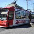Siemens GT8N 1115 beim Hauptbahnhof (20.05.2007).