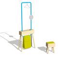"""valet stand """"Holzbock"""", Design: Ariane März"""