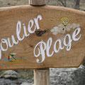 Ariège-Pyrénées, Goulier - baignade dans le torrent